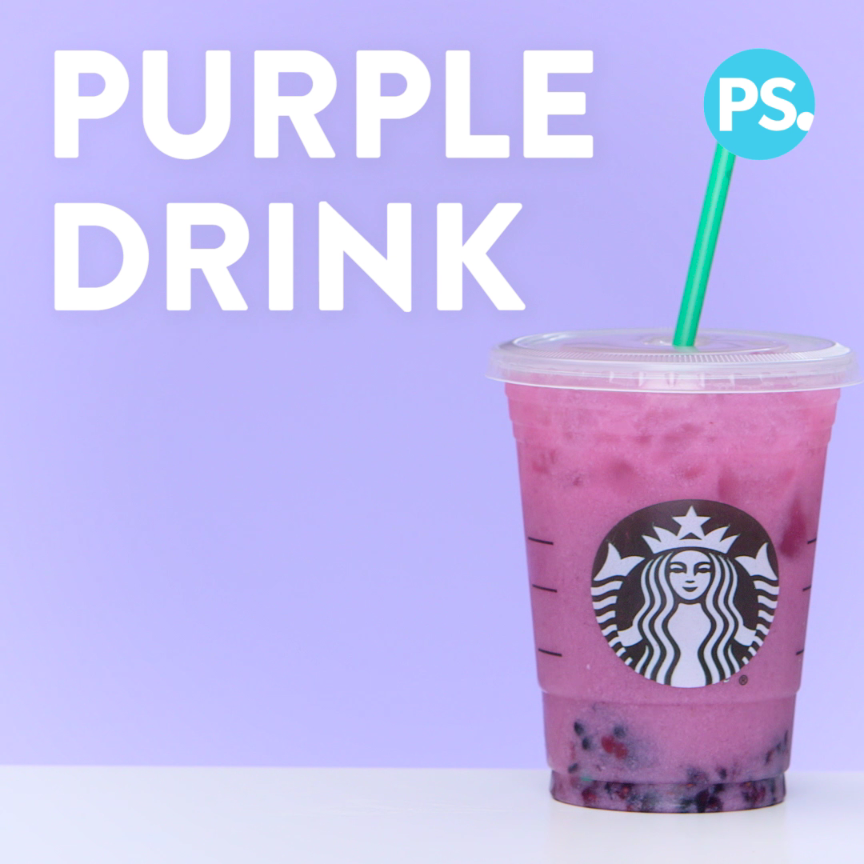 How to Taste the Starbucks Rainbow Drinks For a Fr