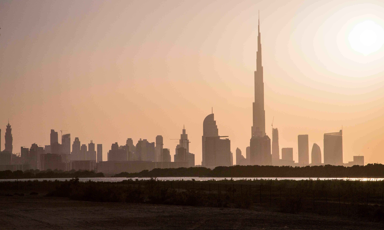 Dubai Skyline Visit Dubai Dubai United Arab Emirates