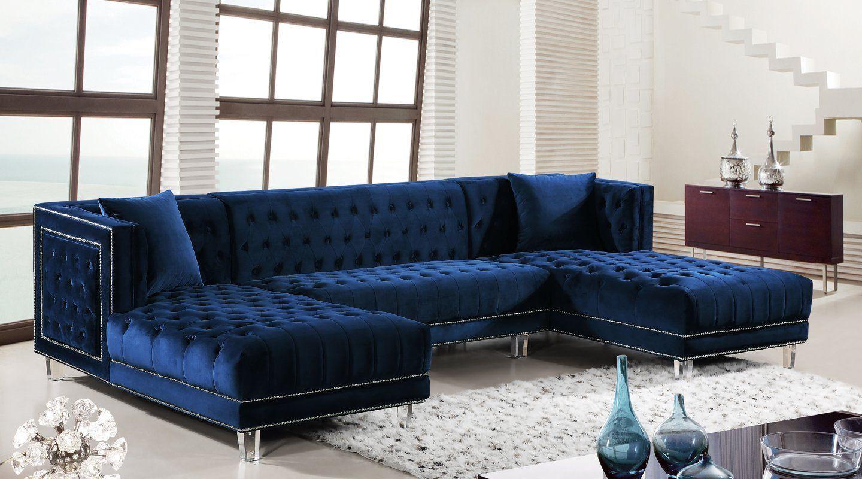 Paulene Sectional 2k Blue Sofas Living Room Blue Couch Living Room Blue Living Room