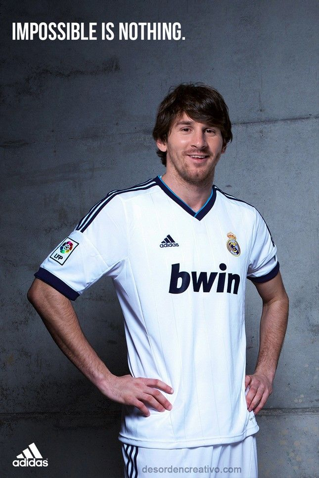 If Leo Messi Played For Real Madrid Lionel Messi Real Madrid Shirt Leo Messi