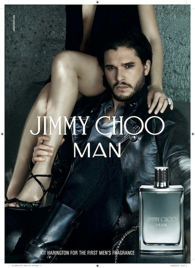 New fragrance for men by Jimmy Choo - Kit Harington༺✿♔R.D ... 6ee9d950e22