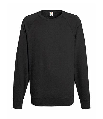 From 8.22 Fruit Of The Loom Men's Ss024m Long Sleeve Sweatshirt Grey (light  Graphite)