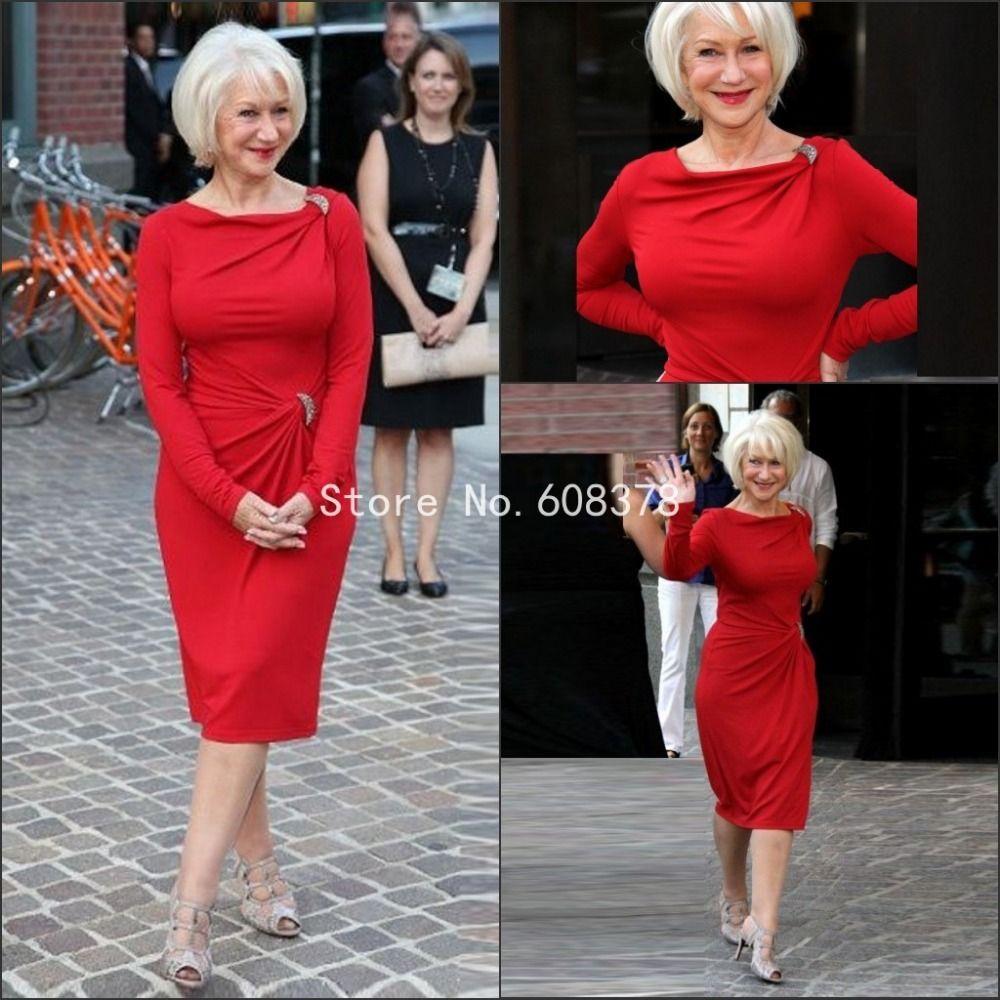 Cheap Corto elegante lf2739 madre de la novia viste rojo cuentas de ...