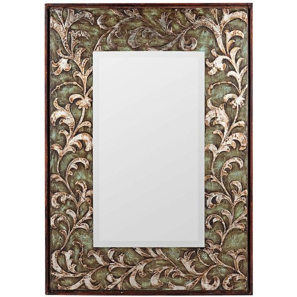 """Cooper Classics Copland 48"""" High Rectangular Wall Mirror - #X7034 ($280) ❤ liked on Polyvore"""