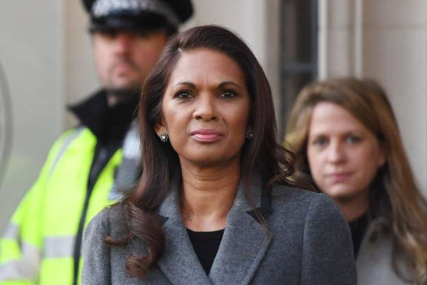 """<div class=""""dnd-widget-wrapper context-sdl_editor_representation type-image"""" style=""""font-size:13px;""""><div class=""""dnd-caption-wrapper"""">Racist threats: Businesswoman Gina Miller leaves the Supreme Court in London (PA)</div><div></div></div>"""