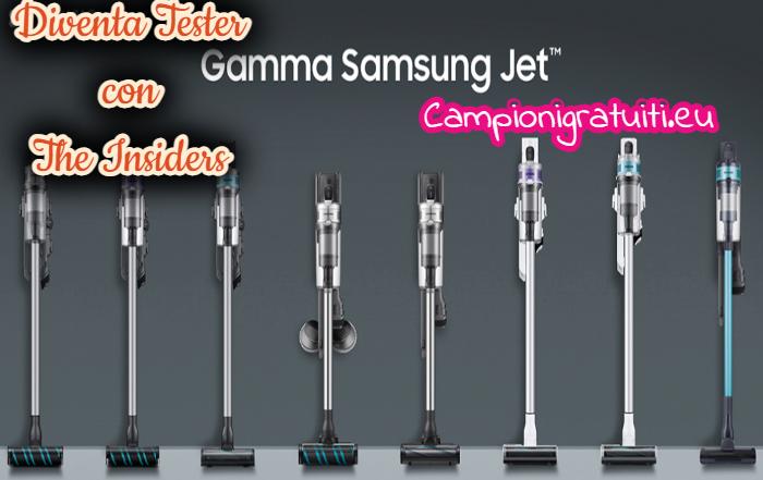 Diventa Tester Aspirapolvere Samsung Jet con The Insiders