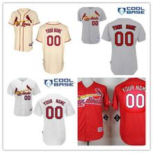 cheaper 98995 4946c Stitched Custom St. Louis Cardinals Jerseys,Personalized ...