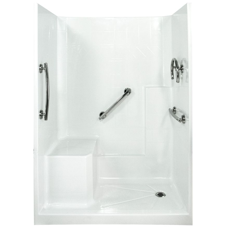Ella\'s Bubbles Shower Wall Surround Side And Back Panels With Floor ...