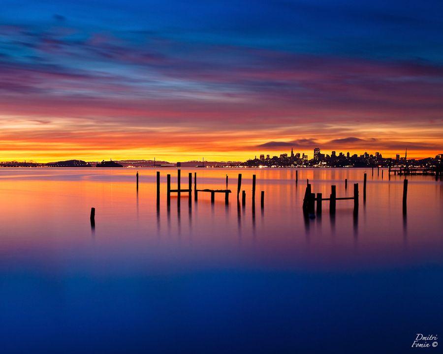 Good morning San Francisco by Dmitri Fomin