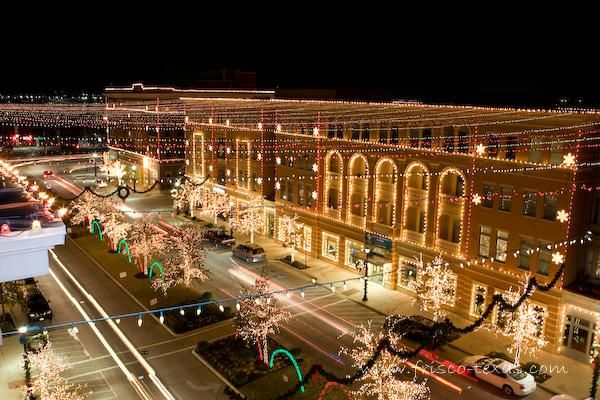 The Christmas Lights display, coordinated with Christmas music is a