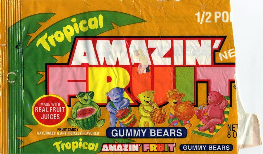 90's Candy And Snacks | amazin fruit gummy bears 1992 ...