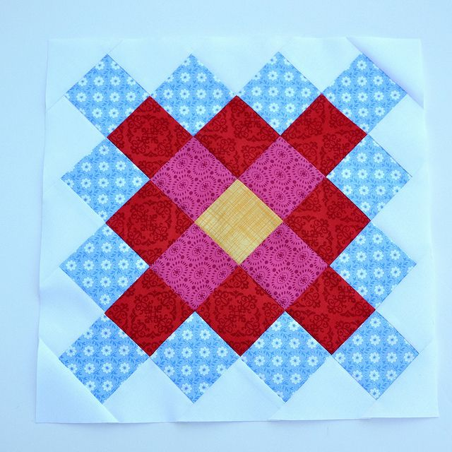 Great Granny Square Block by Pleasant Home, via Flickr