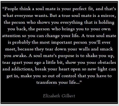 Elizabeth Gilbert on soul mates words-to-live-by