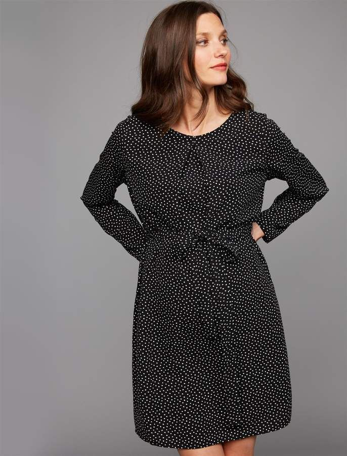 65cd54fddc Pea Collection Ripe A-line Maternity Dress Long Sleeve Maternity Dress