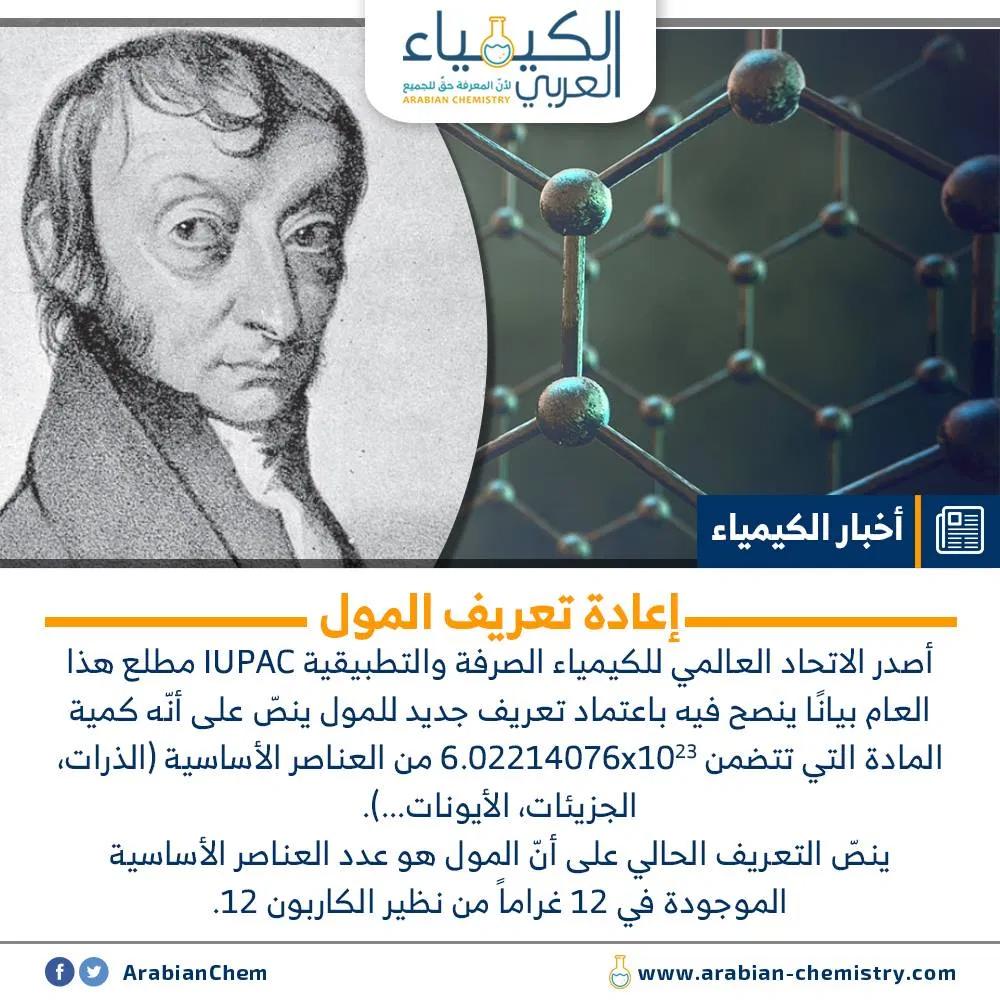 إعادة تعريف المول الكيمياء العربي Chemistry Science Arabians
