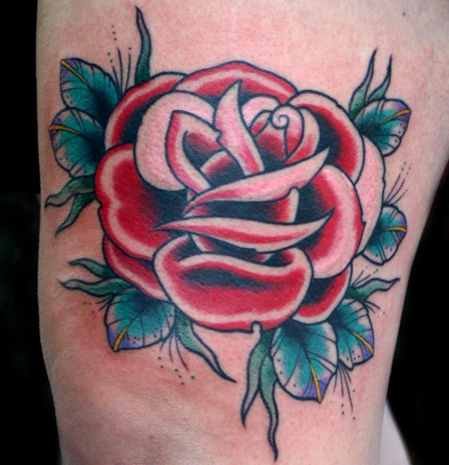 rose by my favorite local artist, Jon Morse