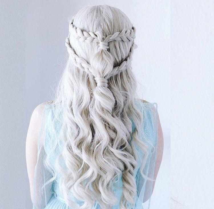 24++ Tresses coiffure game of thrones idees en 2021