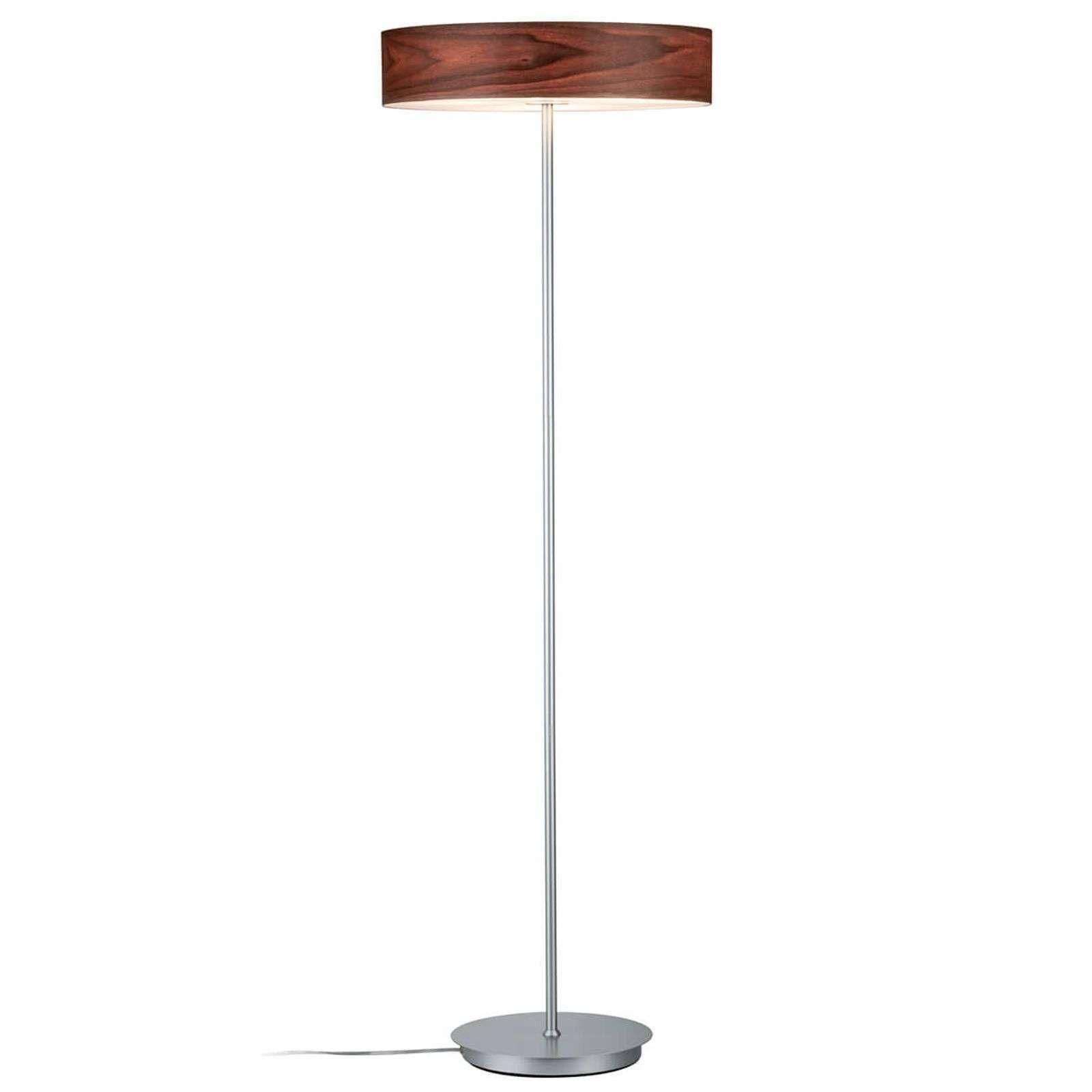 Moderne Vloerlamp Liska Met Houten Kap Van Paulmann In 2020 Moderne Staande Lampen Vloerlamp Zacht Licht