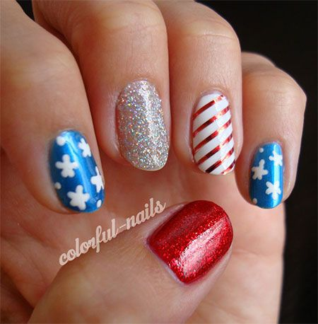 10-American-Flag-Nail-Art-Designs-Ideas-Trends- - 10-American-Flag-Nail-Art-Designs-Ideas-Trends-2014 -Fourth-Of-July
