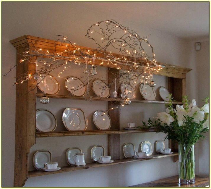 Indoor Fairy Lights For Kitchen & Indoor Fairy Lights For Kitchen | Cottage Decor | Pinterest ...