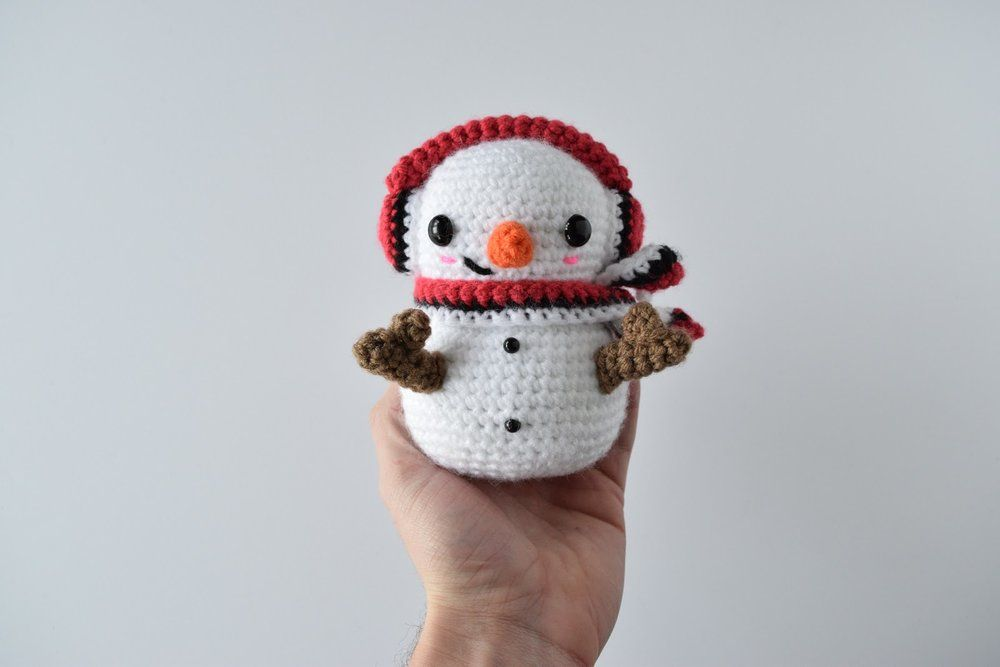 Casper the Snowman — Knot Bad | free pattern crochet | Pinterest