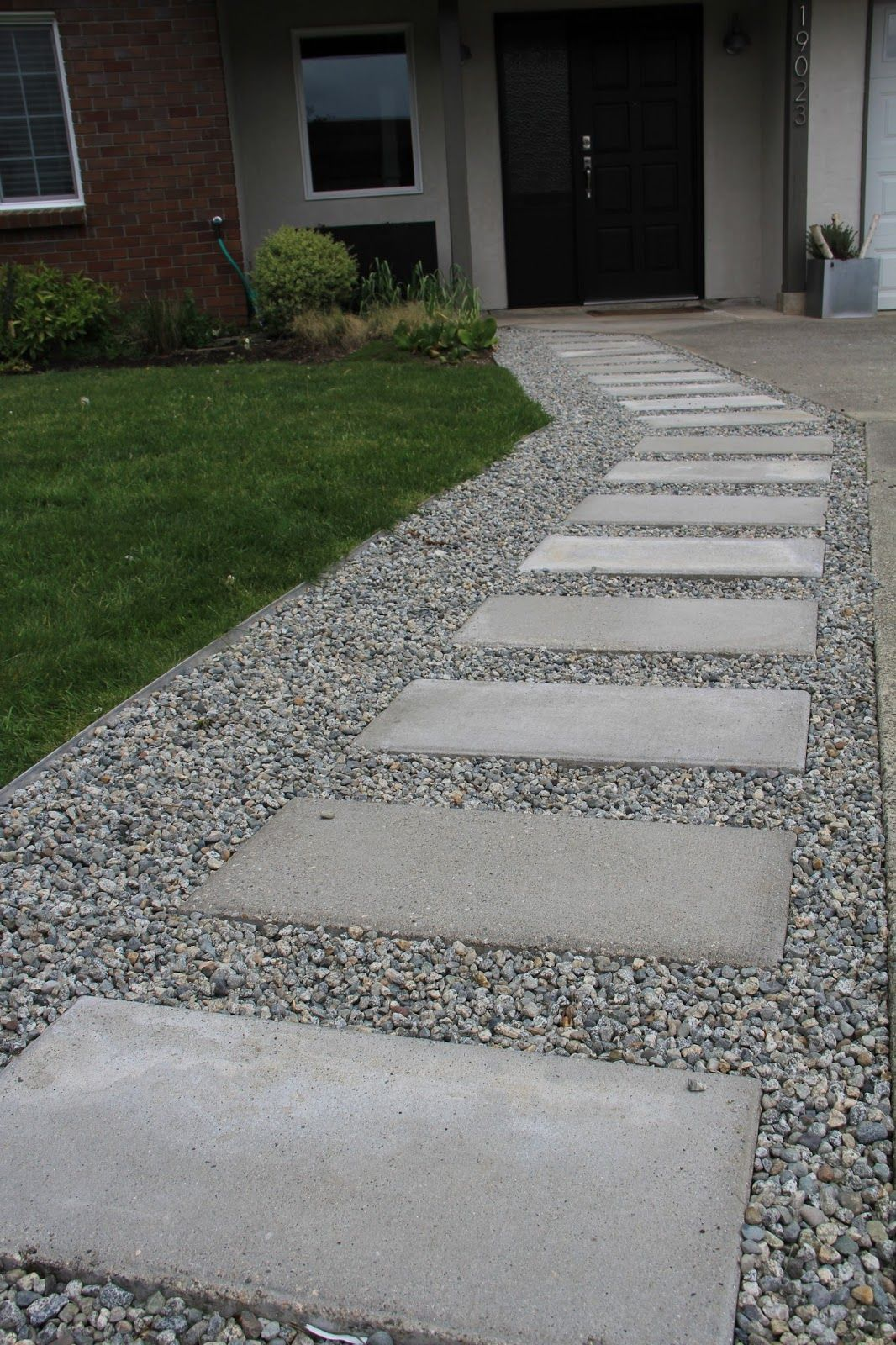 How To Add Pavers Along The Side Of A Gravel Driveway