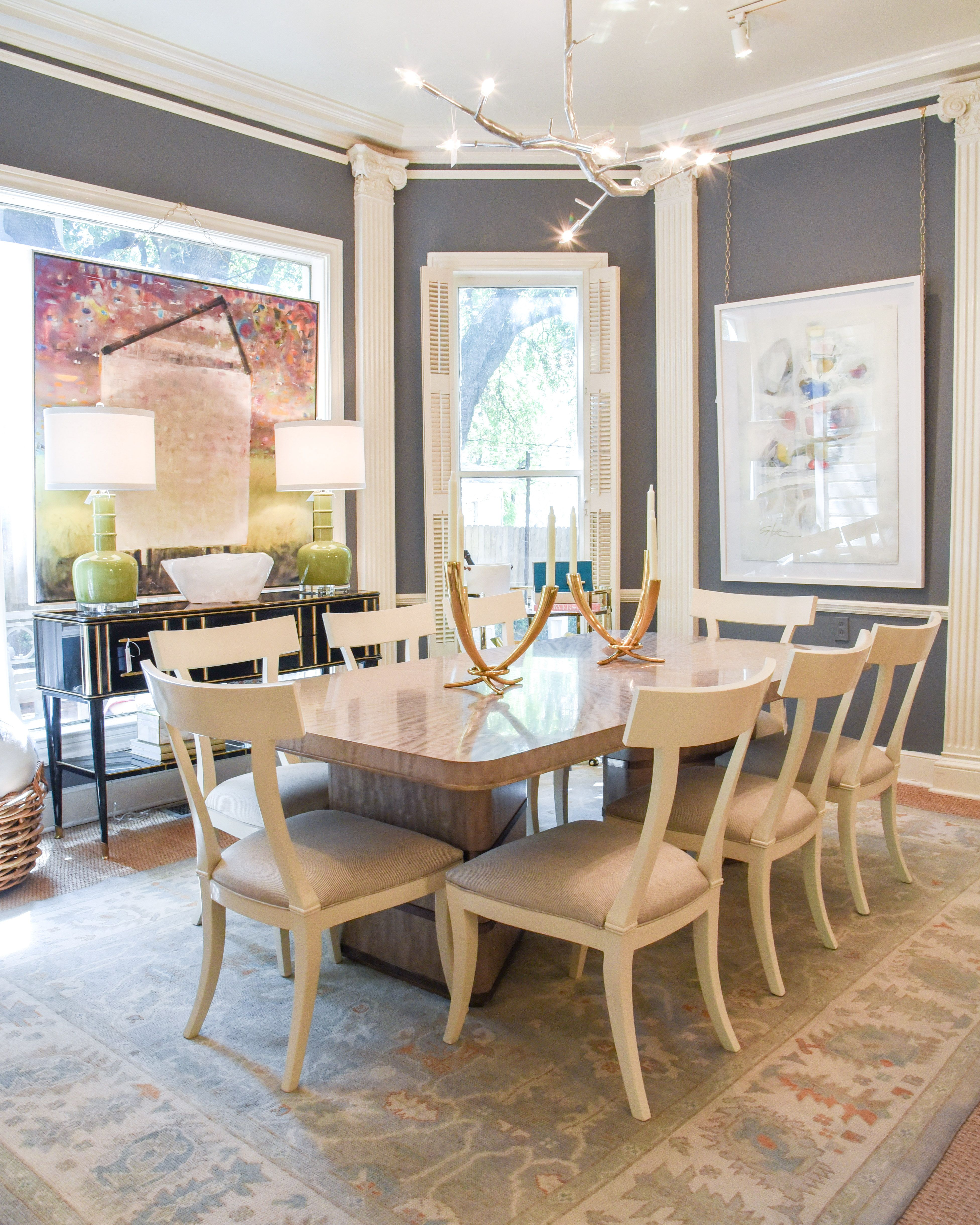 Dining Room Design With Cream Dining Chairs Blue Print Blueprintstore Com Dining Room Design Living Room Den Furniture Boutique