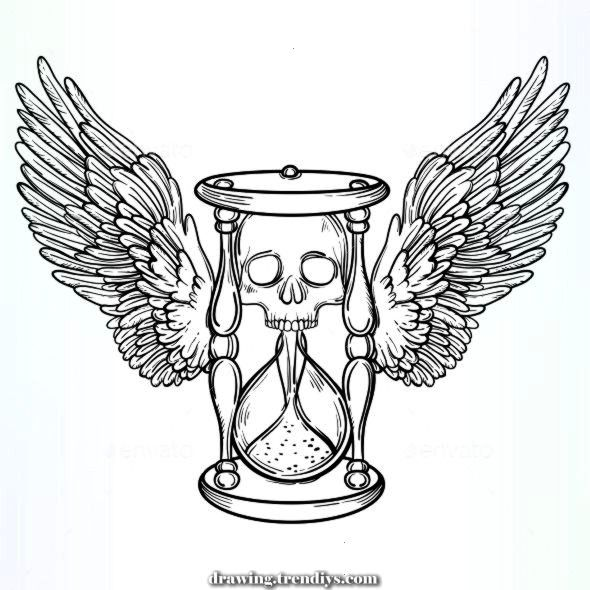 Ornamental Vintage demise hourglass Illustration of vavavka ornamental vintage de  Terrific Ornamental Vintage demise hou Amazing Ornamental Vintage demise hourglass Illu...