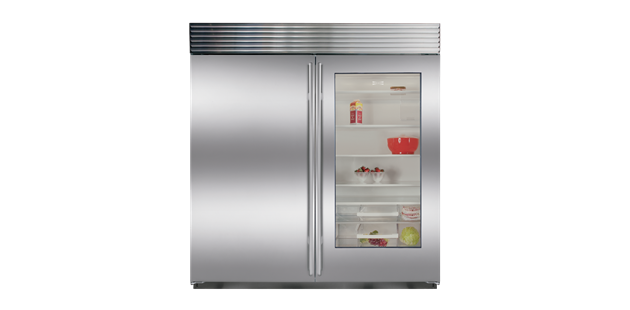 I Ve Finally Found The Perfect Fridge Freezer Bi 36rg With Glass Door Sub Zero Appliances Glass Door Refrigerator Glass Door Sub Zero Appliances