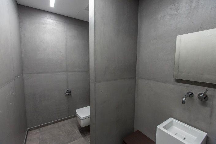 FRESCOTON® - der gespachtelte Beton / the plastered concrete