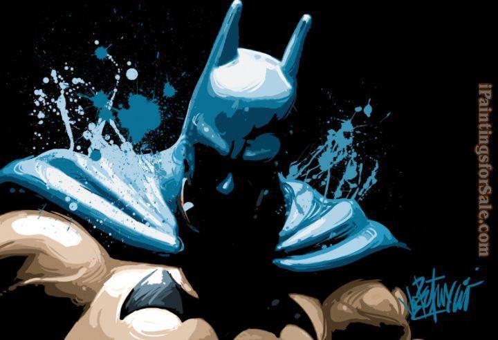 Batman Art Prints   2012 batman Painting - iPaintingsforsale.com