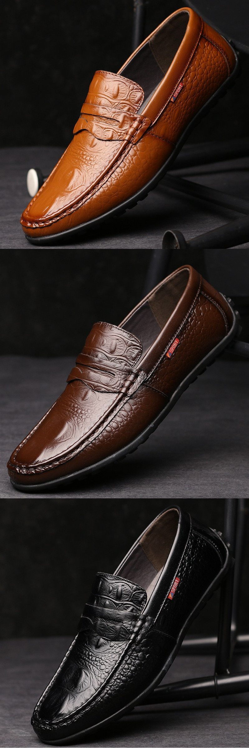 Surprising Day Fashion casual leather shoes The British fashion men's shoes Doug shoes Driving shoes