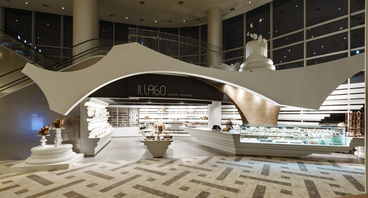 Bakery and wine shop interior design 15