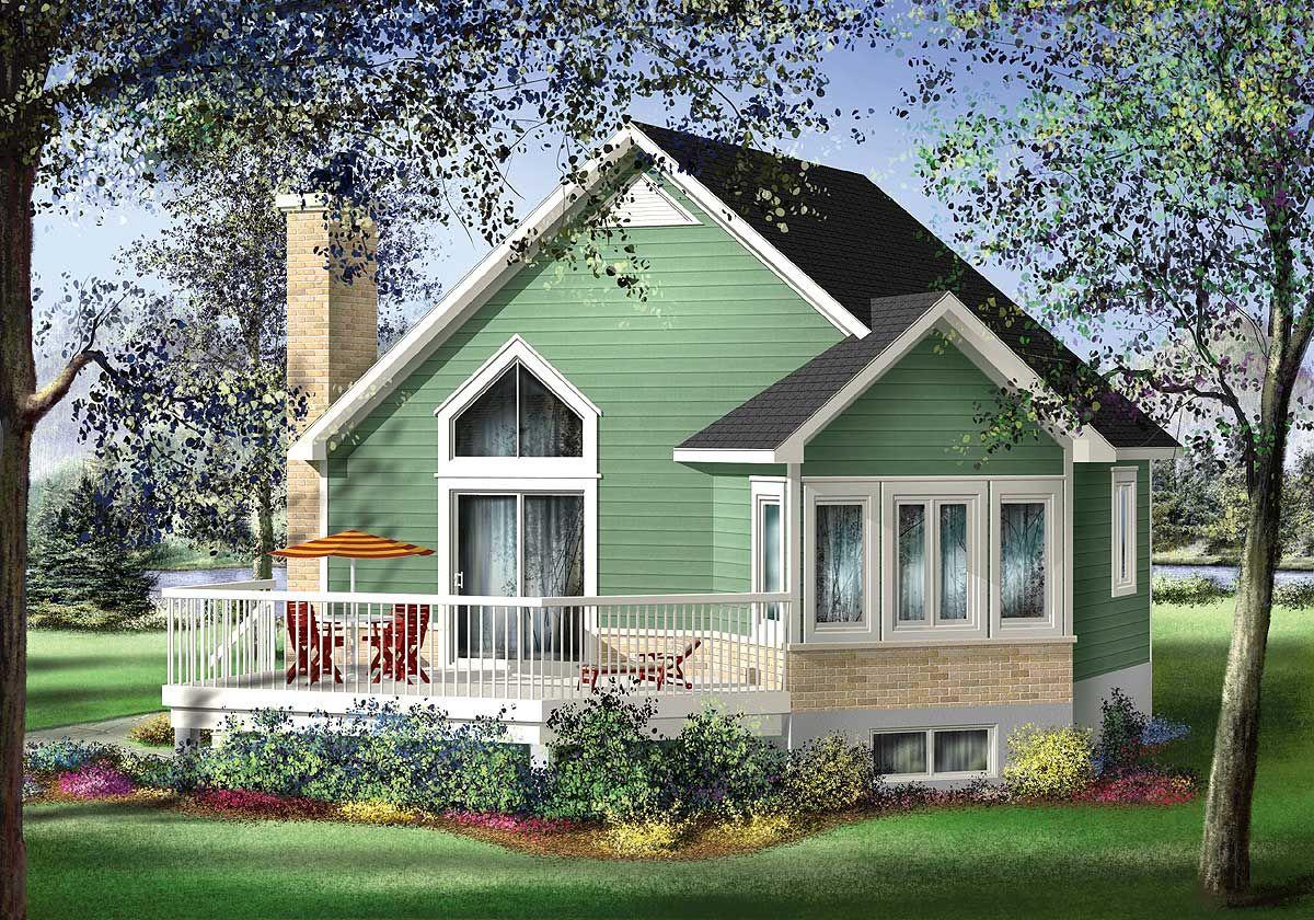 Plan 80556PM Quaint Cottage Escape Plan 80556PM