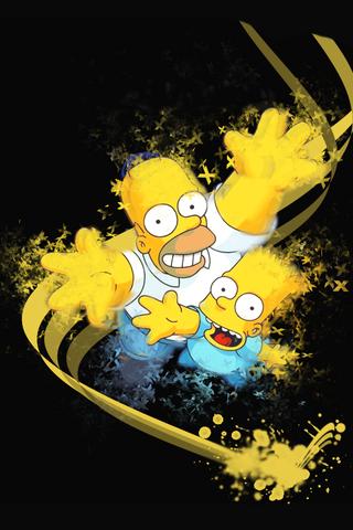 Cartoons Iphone Wallpaper Mariusz Dabrowski Blog Abstract Iphone Wallpaper Simpsons Funny Cool Wallpaper