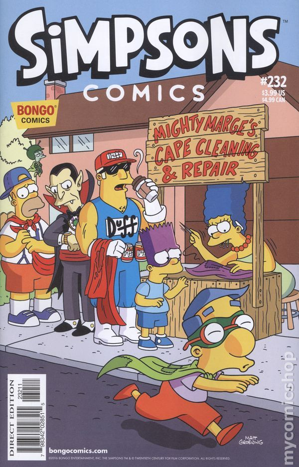 Simpsons Comics 1993 232 The Simpsons Simpsons Funny Marge