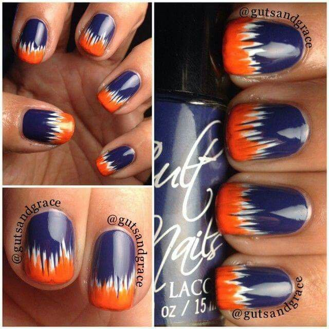 Chicago Bears | hair and nails | Pinterest | Seahawks nails, Beauty ...
