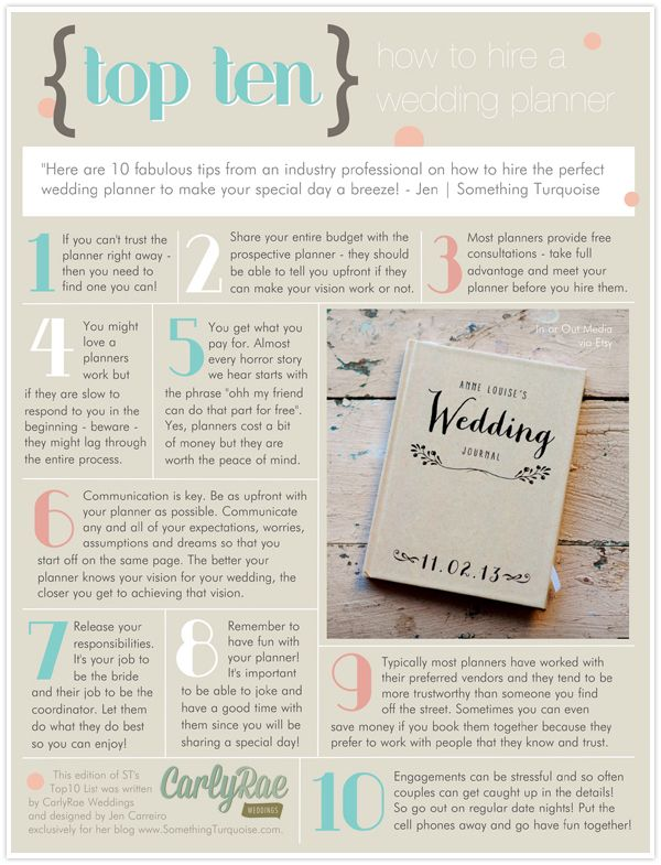 TOP 10 Wedding planners Perfect wedding and Planners
