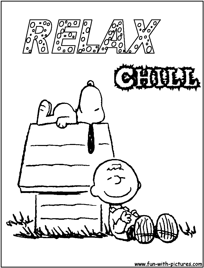 Charlie brown christmas coloring pages to print - Coloring Pages Of Snoopy 48 Free Printable Coloring Pages