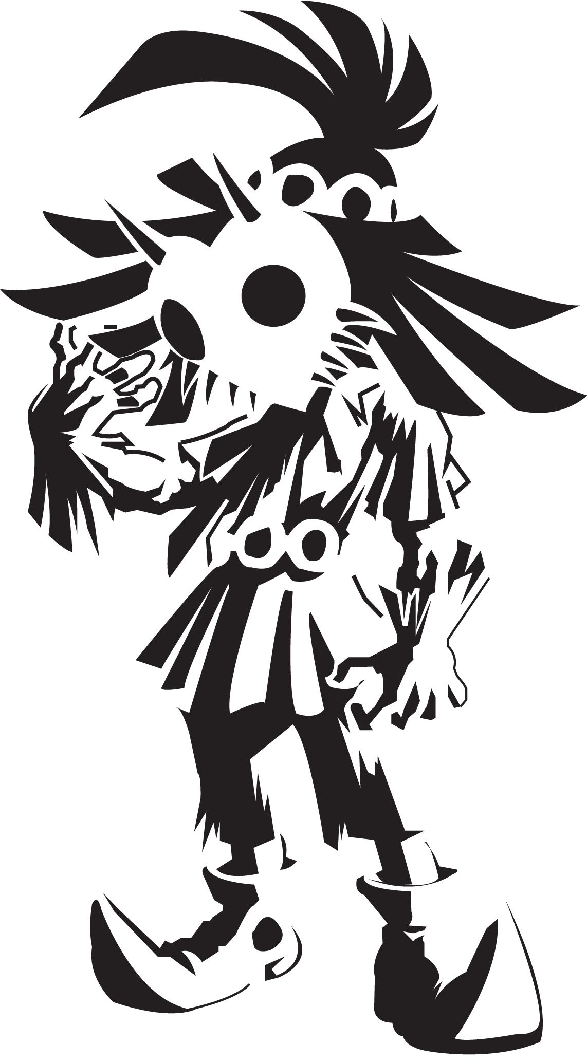Skull Kid Stencil | Legend of Zelda | Pinterest