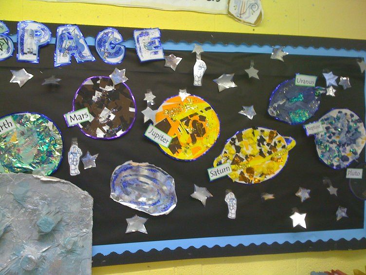 Moon Twilight Resources Creative Pre Made: Space Display, Classroom Display, Class Display, Space
