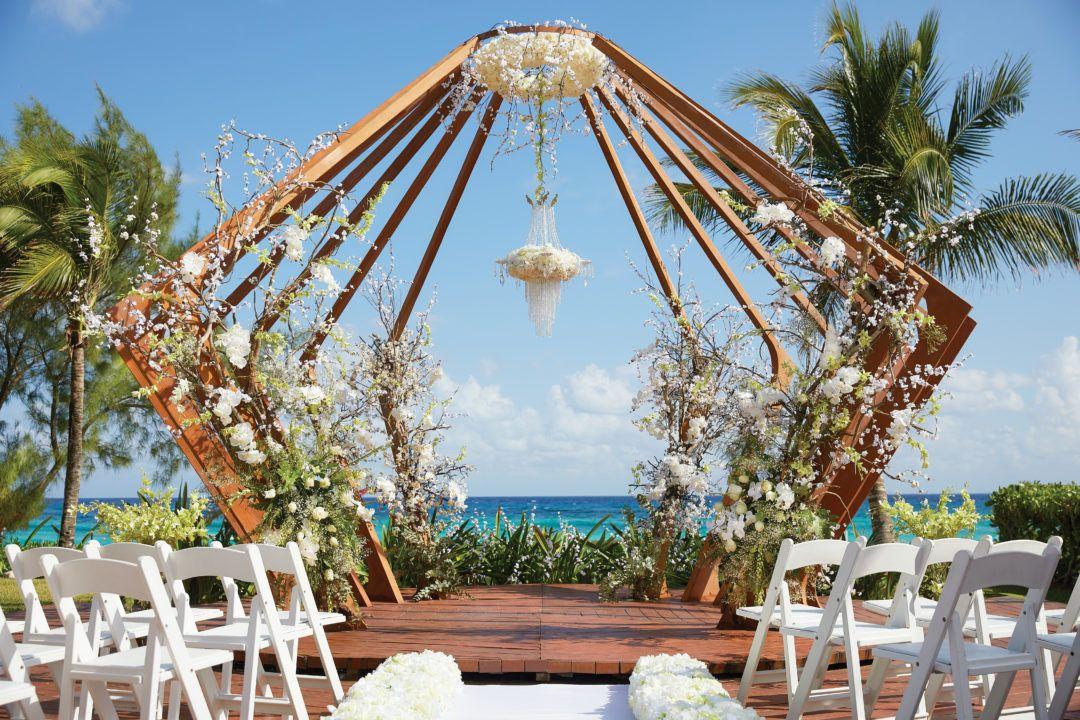 Weddings At The Fives Azul Beach Resort Playa Del Carmen By