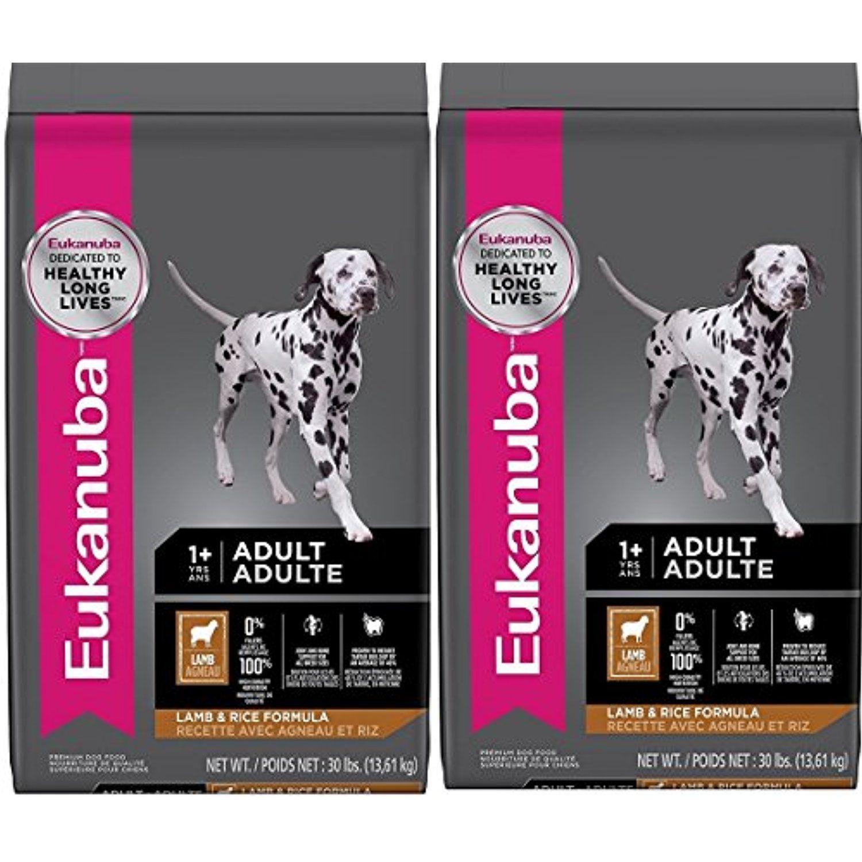 Eukanuba adult dry dog food qfkrah lamb rice 2bags 30