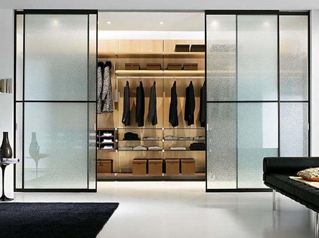 Wardrobe Closet Glass Doors (With images) Modern closet