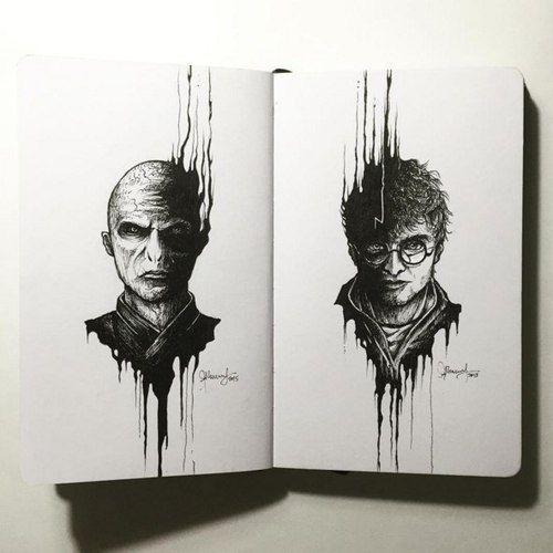 Harry Potter Disegni Tumblr A Matita Harry Potter Harry Potter