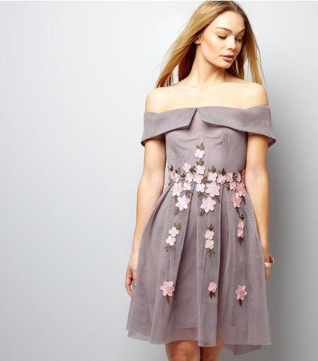 Joug Des Femmes En Maille Bardot Robe Nouveau Look NXGIswUlX2