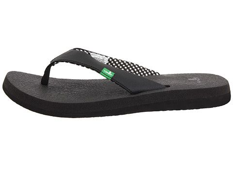 Most Comfortable Flip Flops Ever Sanuk Yoga Mat Ebony Zappos