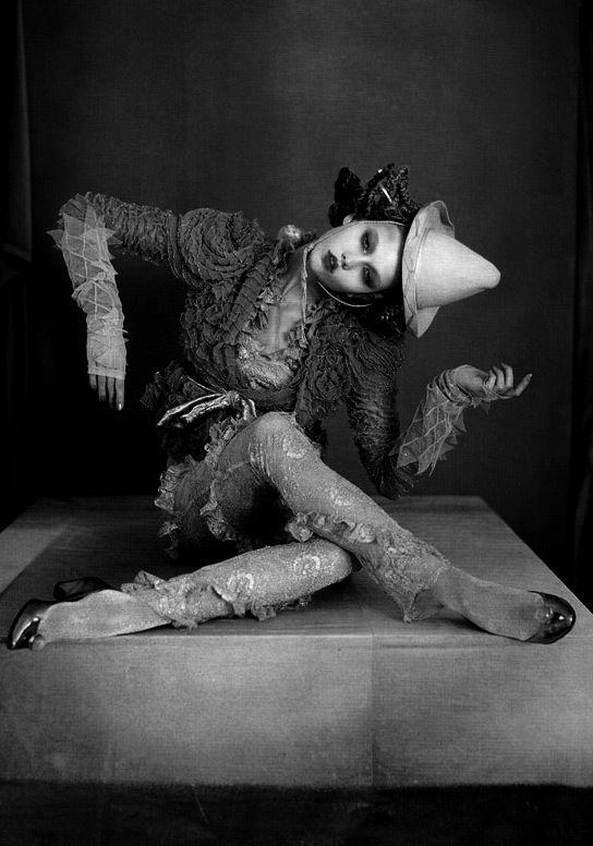 Karlie Kloss by Tim Walker in Russian Dolls, Vogue UK. October 2010. S)