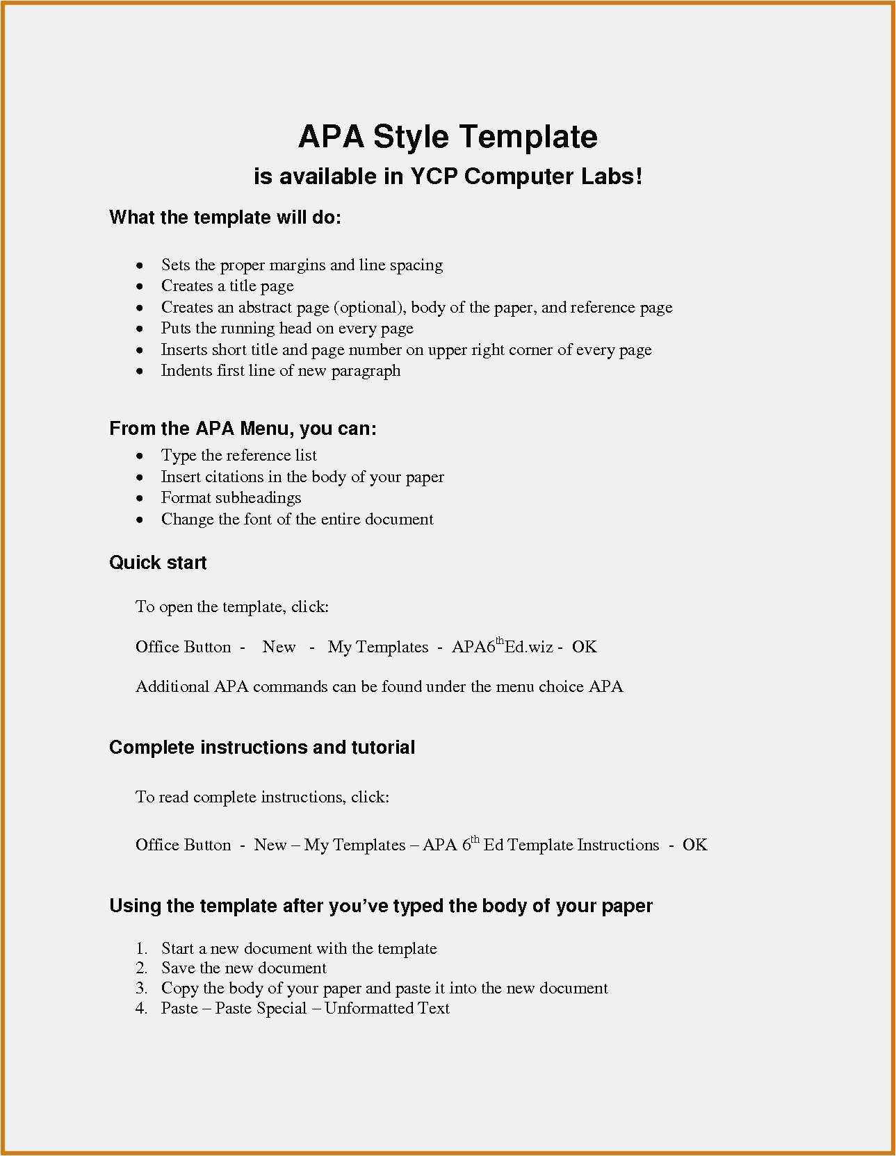 024 Apa Reference Page Template Word Style Paper Format Pertaining
