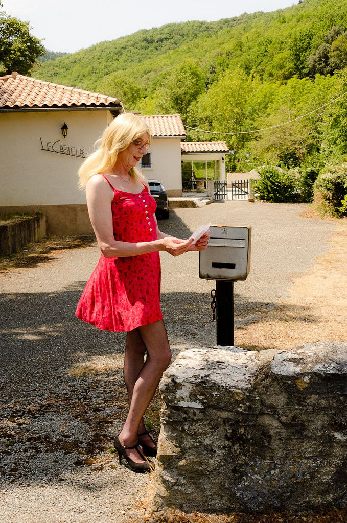 The letter. | Crossdressers, Check and Crossdressed